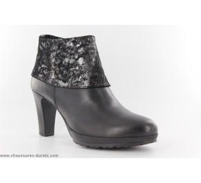 Boots femme Tamaris LUX Noir / Métallic