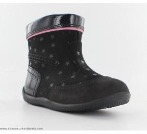 Bottes fille Kickers BIGARO Noir