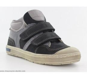 Chaussures garçon Kickers IGOR Noir / Gris