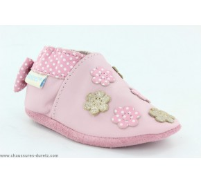 Chaussons fille Robeez FORGET ME NOT Rose