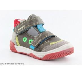 Chaussures Garçon Babybotte SIDECAR Kaki