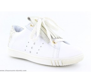 Baskets fille Bellamy JORPI Blanc / Or