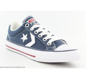Baskets Converse STAR PLAYER OX Navy / White