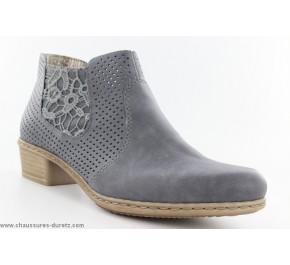 Boots femme Rieker YPER Bleu M0757-14