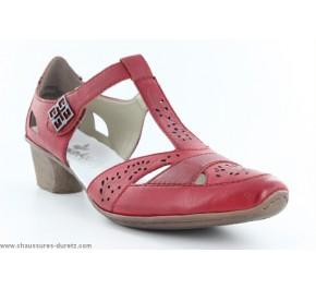 Chaussures femme Rieker VULPIN Rouge 49798-33