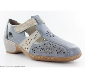 Chaussures femme Rieker YOD Bleu 47167-13