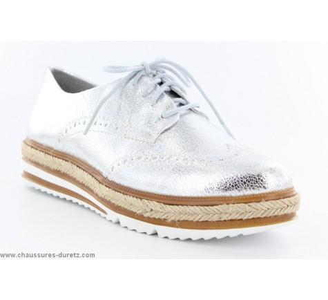 Ouir À Tamaris Silver Chaussures Lacets tUpwvc7q