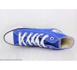 Baskets Converse ALL STAR HI Bleu Pétant
