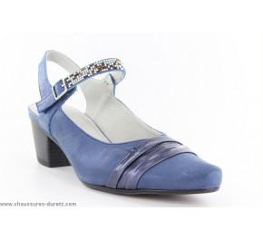 Chaussures femme Dorking KSAR 7060 Marine