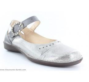Chaussures femme Dorking KIWI 6615 Argent