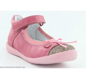 Chaussures filles Babybotte SHINY Framboise