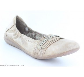 Ballerines femme Mustang FAST Taupe