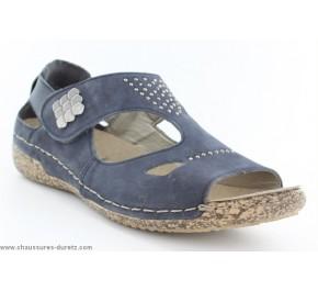 Sandales femme Rieker YAUT Bleu V7264-14
