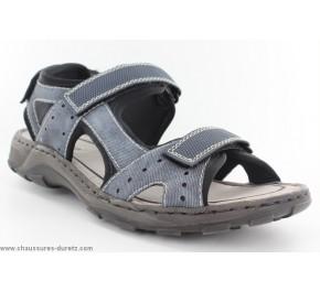 Sandales homme Rieker YTRI Bleu 26070-14