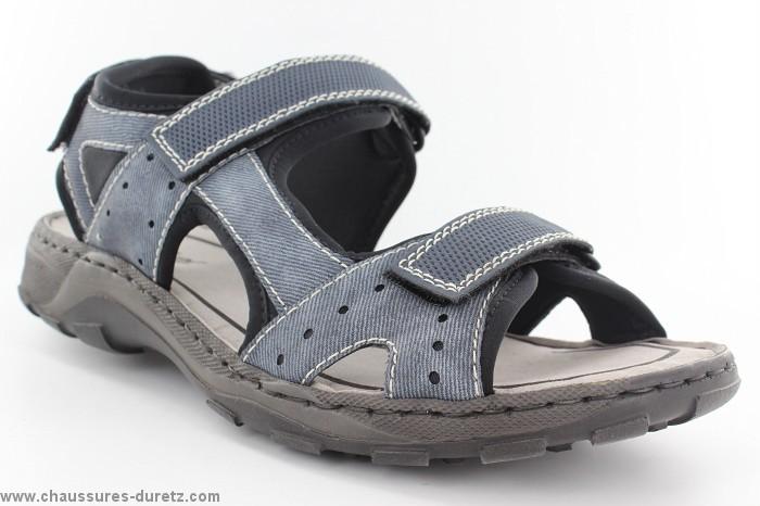 Sandales homme Rieker YTRI Bleu 26070 14