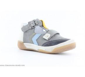 Chaussures garçon Babybotte SCHEMA Gris