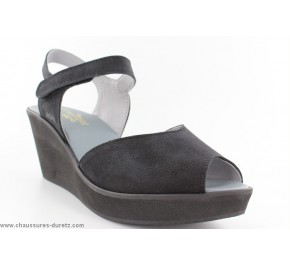 Sandales femme Arcus TAZIPE Noir