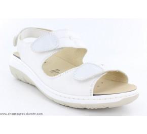 Sandales femme Géo reino ANACO Blanc