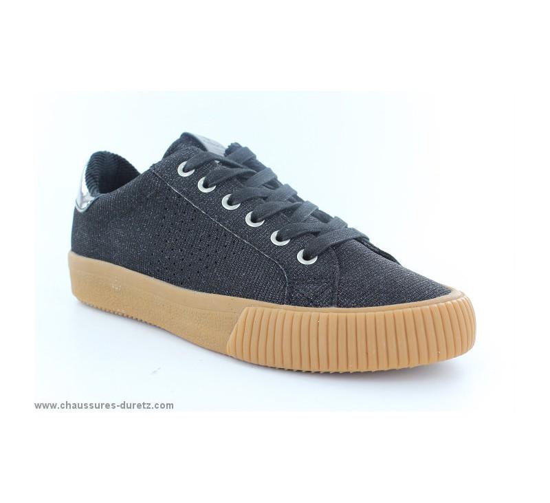 Baskets fille Victoria 65115 Noir