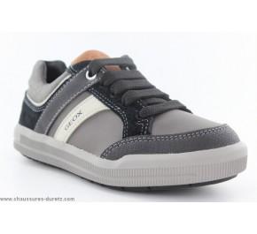 Chaussures garcon Geox DAO Gris / Noir