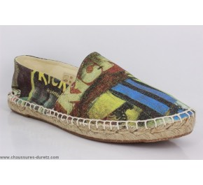 Espadrilles Kickers FLASHING Multicolore