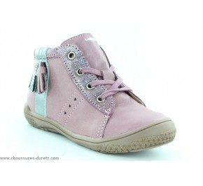 Bottines fille Babybotte AIMILI Vieux rose