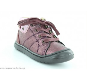 Bottines bébés Palladium MARLOW Bordeaux
