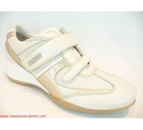 Chaussures femme Géox HIT Ivoire