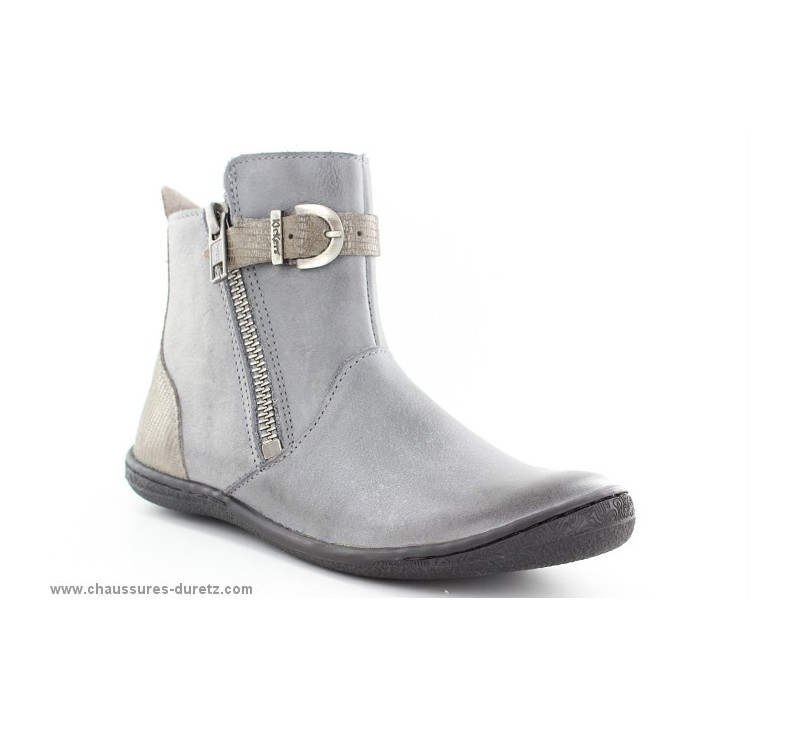 0cb0a58f4abed0 Boots Kickers CAMERON Gris | Boots & Bottes Kickers pour Enfant