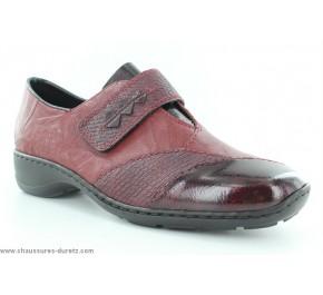 Chaussures femme Rieker AVRA Rouge 58397-35