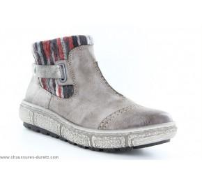Boots femme Rieker AXIAL Brown Z7984-25
