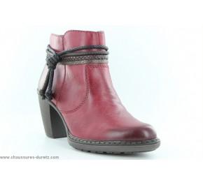 Boots femme Rieker AVANT Rouge 55298-35