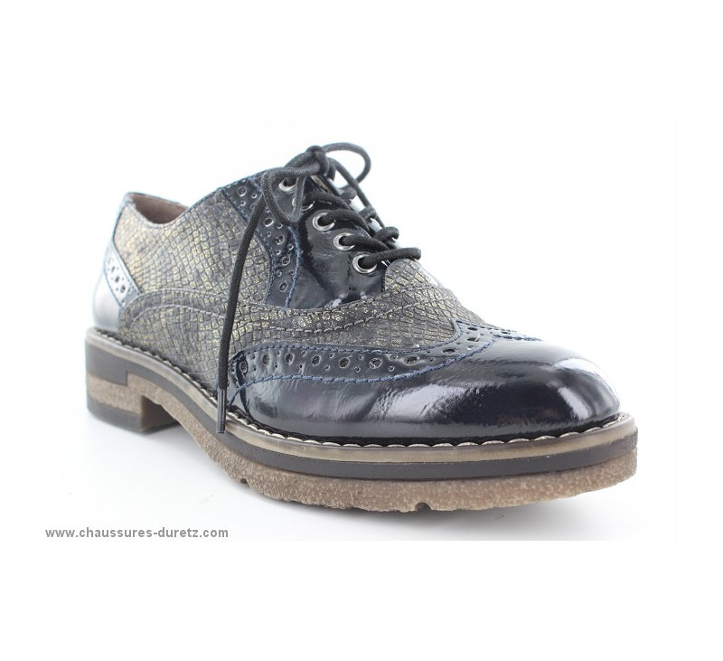 Shyly Chaussures Tamaris À 6ddvq4xw Puce Navy Derbys At Femme Lacets 9Y2eWEDIH