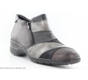 Boots femme Rieker AUTRE Graphite L4373-45