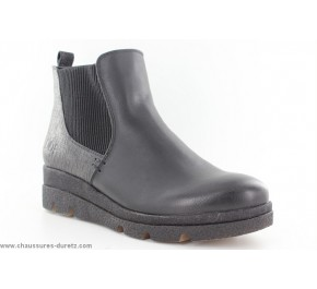 Boots femme Délire de fille NADIE Noir