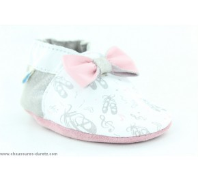 Chaussons fille Robeez BALLET DANCER Blanc