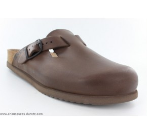 Mules homme Méphisto - CLAYTON Dark Brown