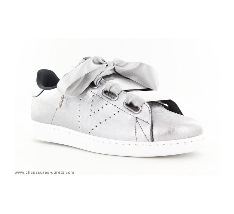 Chaussures Victoria grises fille ht5z2