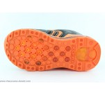 Baskets Geox DEALO Noir / Orange