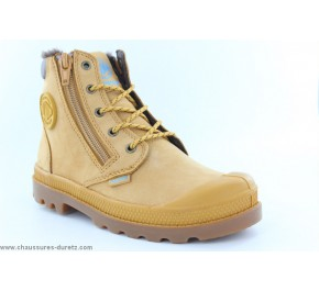 Bottines mixtes Palladium HI CUFF WPS Gold