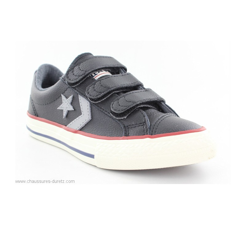 9b588f7cca643 Converse STAR PLAYER OX 3V Noir   Gris. Loading zoom