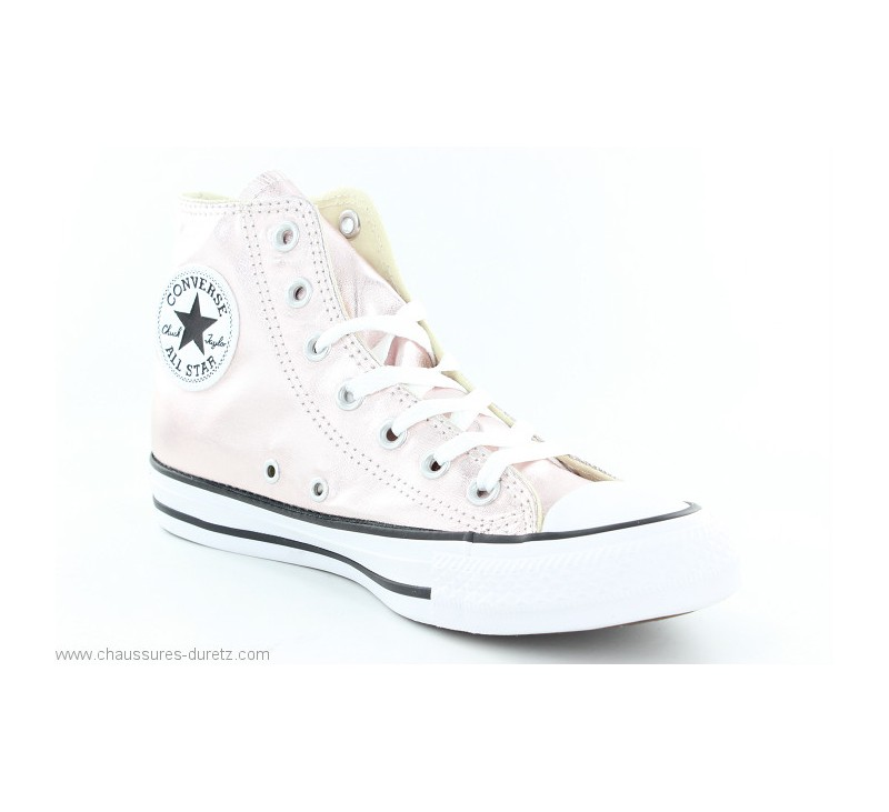 Baskets Pour Converse Femme Rose QuartzToiles All Star Hi 5A34jLcRq