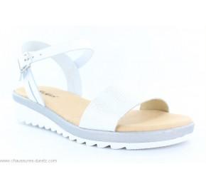 Sandales femme Kickers GLITY Blanc