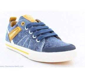 Baskets garçon Geox ETOUR Blue / Yellow