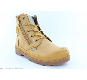 Bottines mixtes Palladium HI CUFF WP Gold