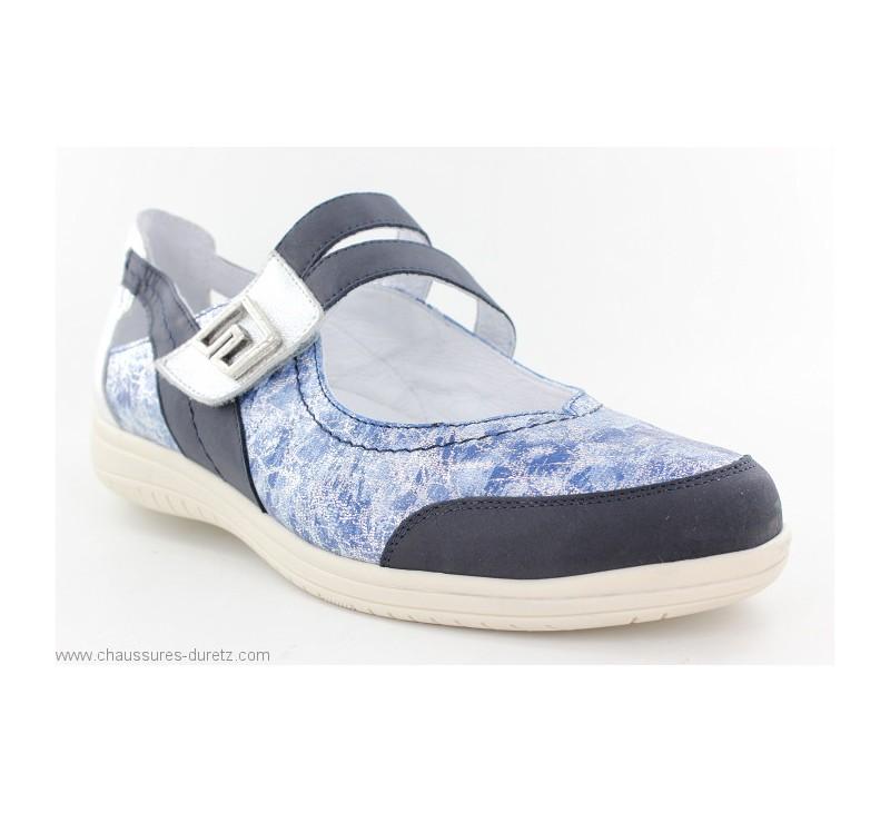 Sandales Rieker YAUT Bleu V7264 14 | Confort Extrême Rieker