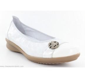 Ballerines femme Dorking LOU Blanc