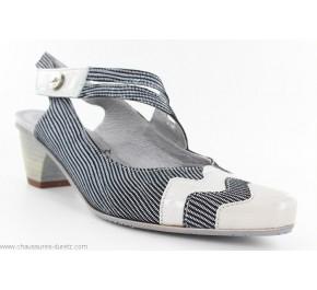 Chaussures femme Un Tour En Ville PECHAU Gris