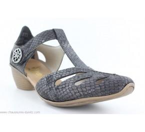 Chaussures femme Rieker BAS Gris 43750-45