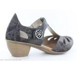 Chaussures Rieker BAS Gris 43750-45